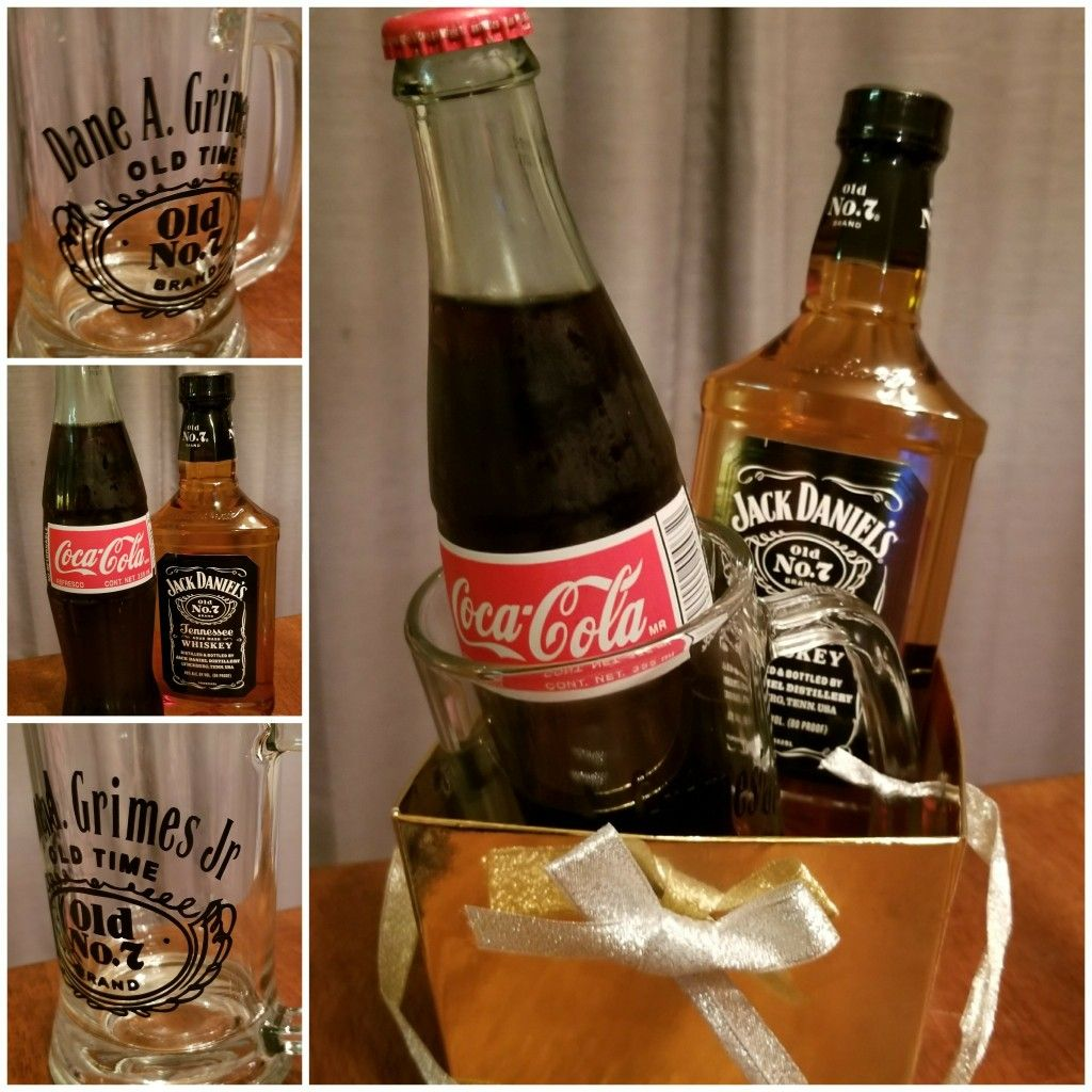 Christmas gift: Jack Daniels and Coke with a personalized Jack ...