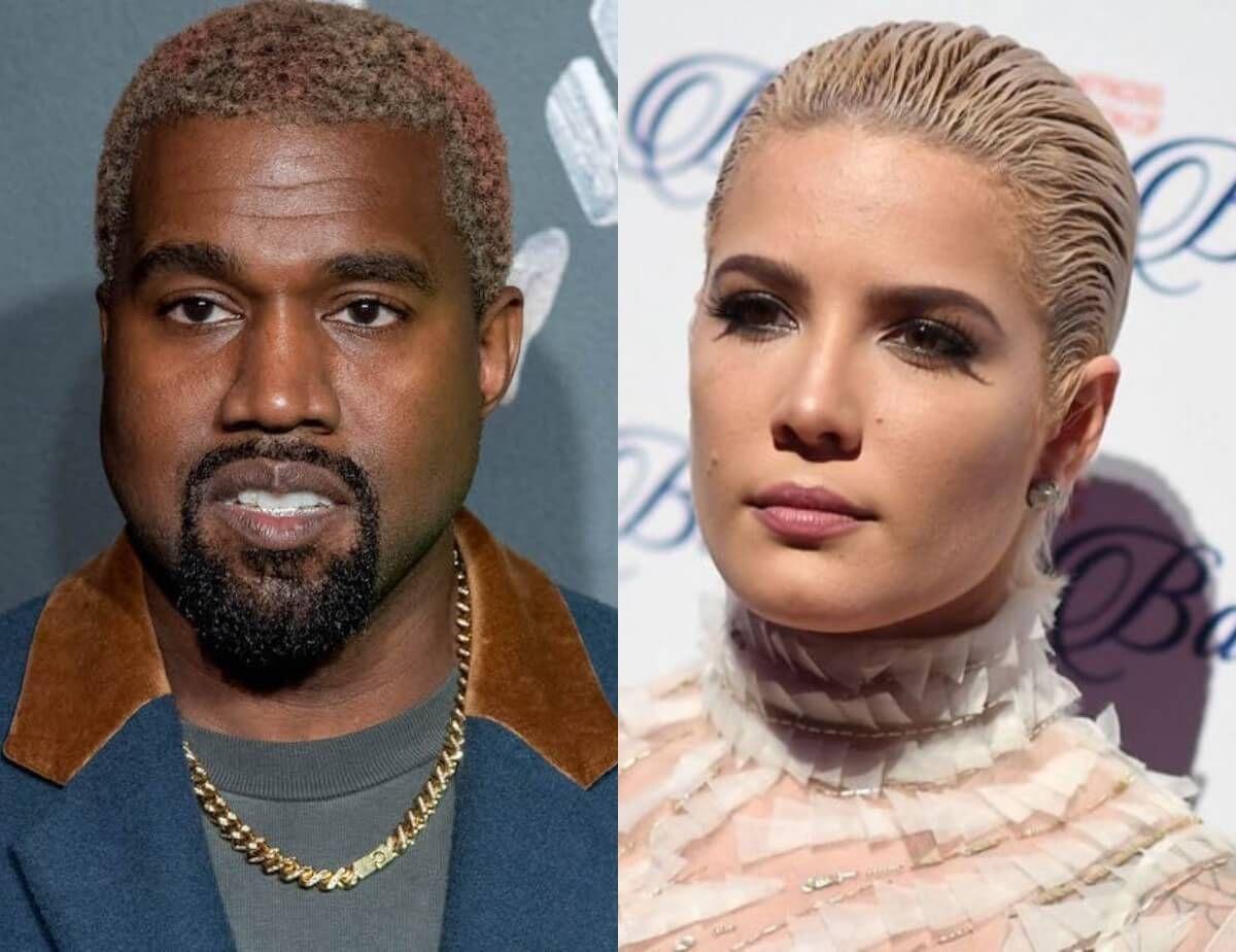 Kanye West Singer Halsey Defends Rapper Chides Critics Of His Erratic Behavior In 2020 Rapper Kanye West Singer