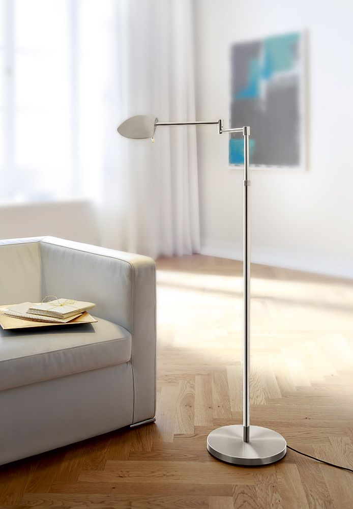 9810 Led Color Blend Floor Lamp Full Range Dimming With Two Independent Dimmers Led 1 1x7 Watt 525 Lumens 3000 Kelvin Floor Lamp Lamp Modern Floor Lamps