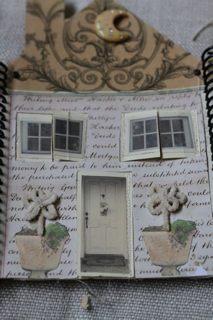House book made by Pam Garrison