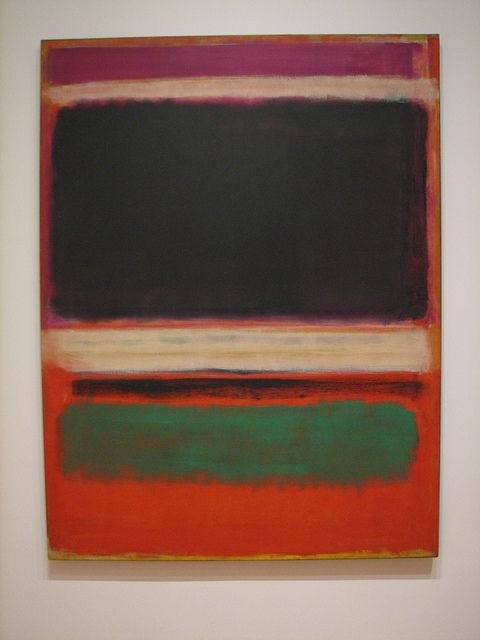 Mark Rothko Number 13 Giclee Canvas Print Paintings Poster LARGE SIZE