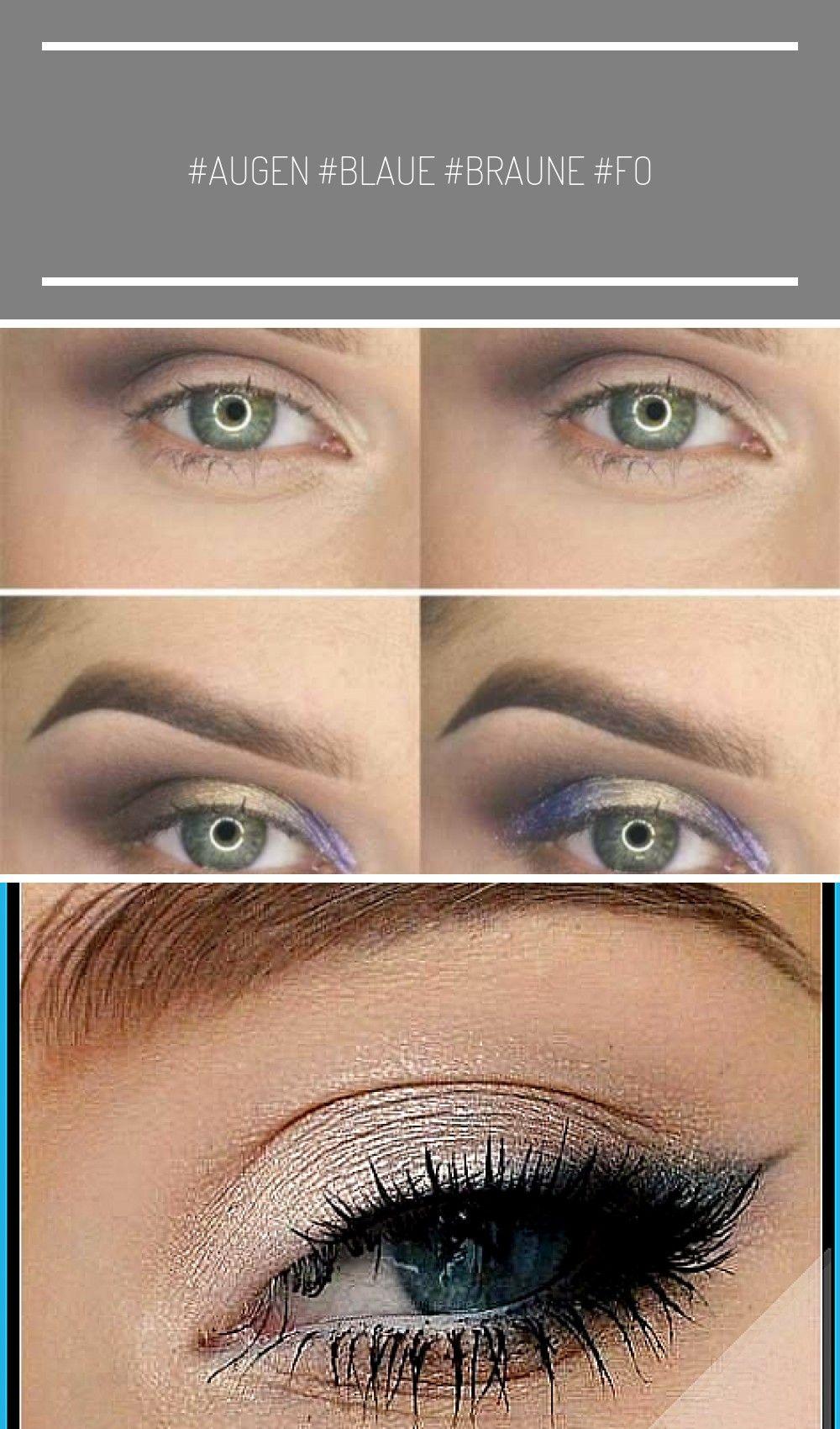 Augen Makeup für blaue Augen braune Haare Tw   Make UP  up for blue eyes tutorial natural