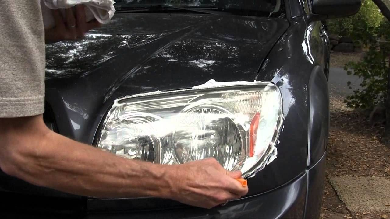 How to polish glass and car headlights Answers here