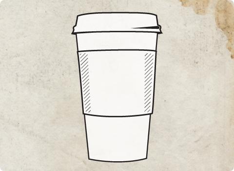 Paper Coffee Cup Vector Ideas 69390 Design