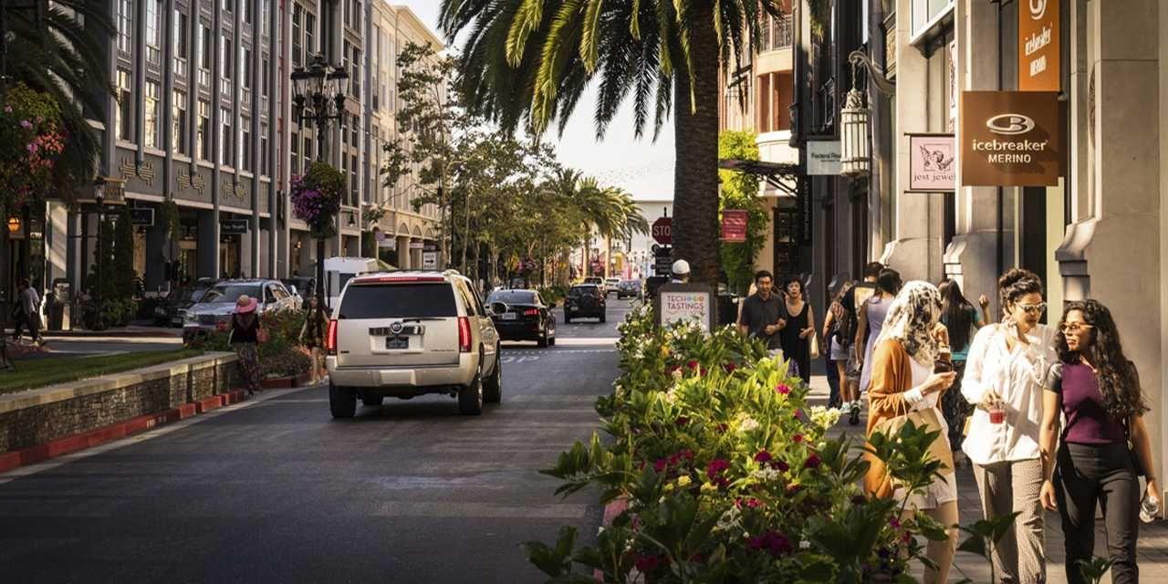 Santana Row Visit california, San jose international