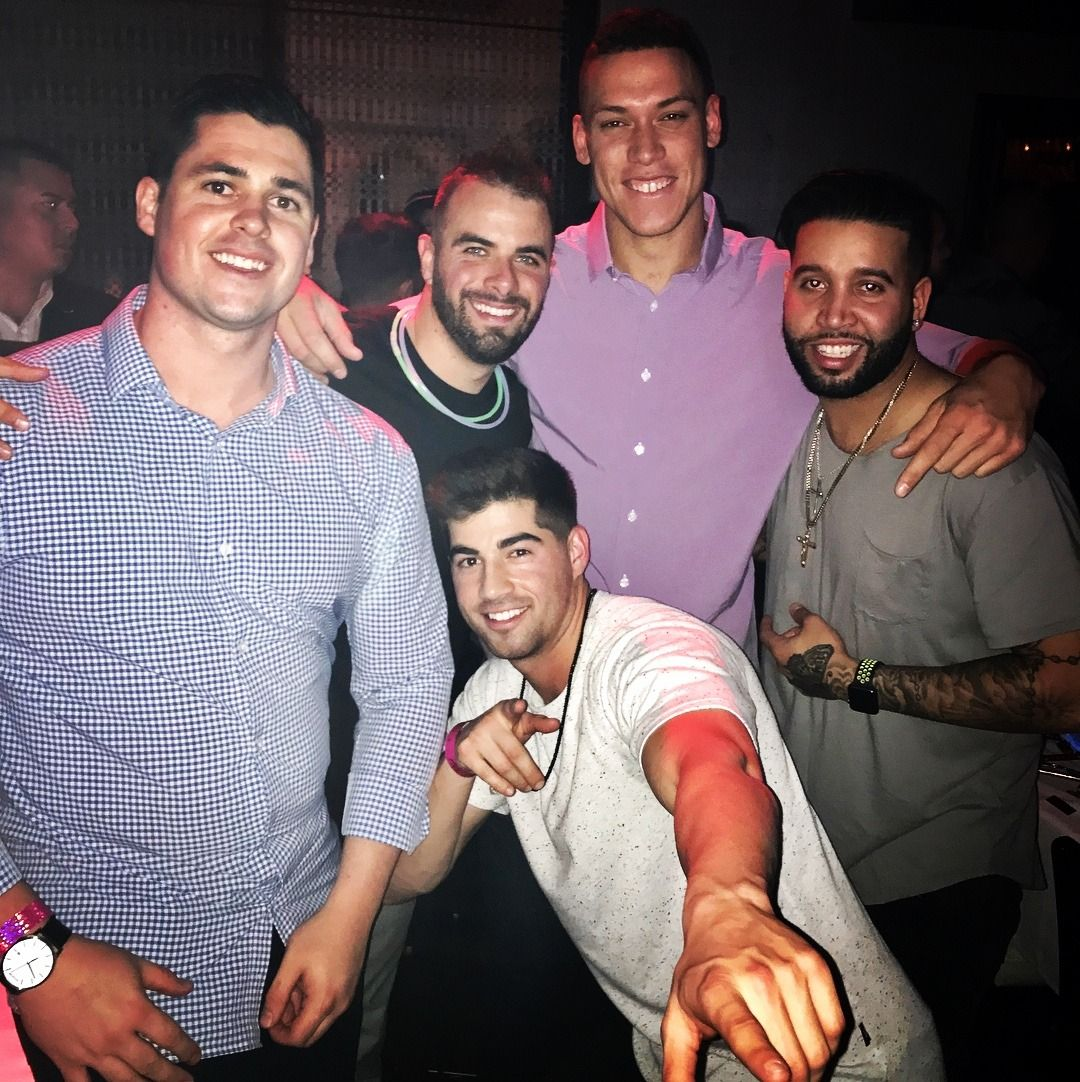 Aaron Judge, Tyler Wade And Friends In Vegas For New Years