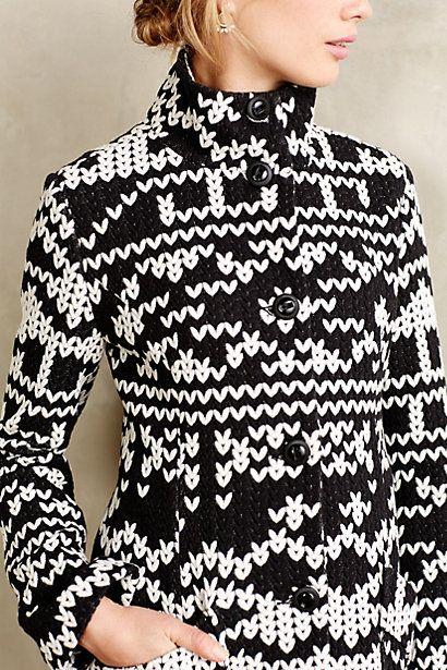 Fairisle Sweater Jacket - anthropologie.com