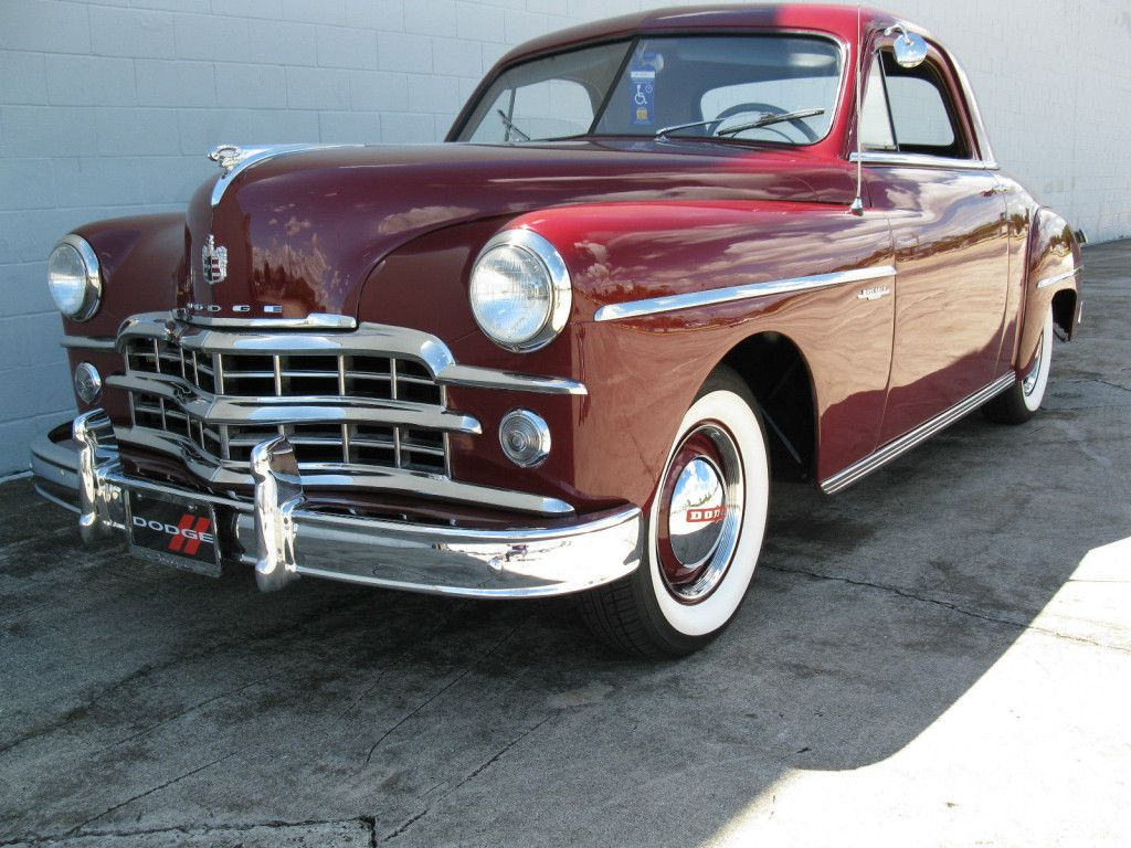 49 Dodge Wayfarer Business Coupe | Dream Garage | Pinterest ...