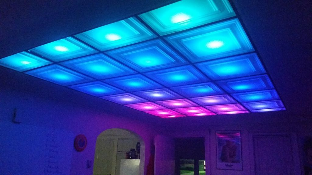 How To Turn Your Room Into A Nightclub With Diy Led Ceiling The Creators Project
