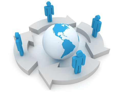 Peter Faber Global Interdependence This relates to interdependence because its shows people connecting to the world.