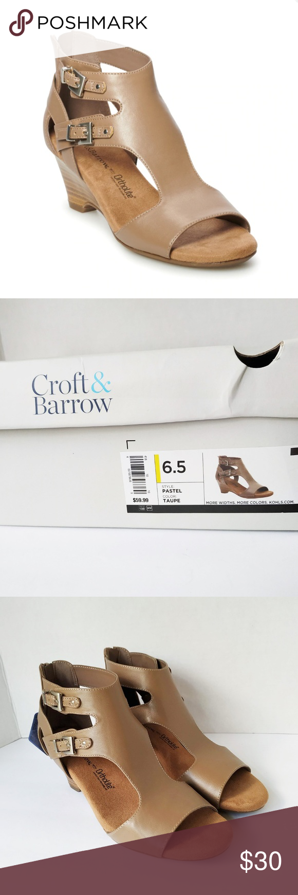 croft and barrow ortholite wedge