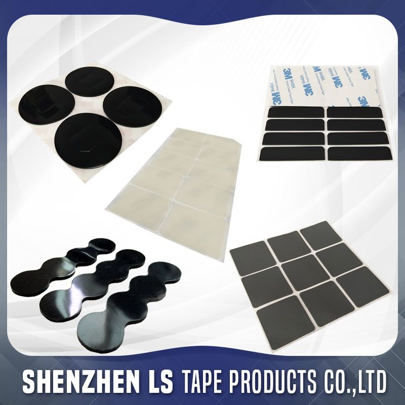 Single Double Sided Adhesive Rubber Pad Double Sided Adhesive Chess Board Adhesive