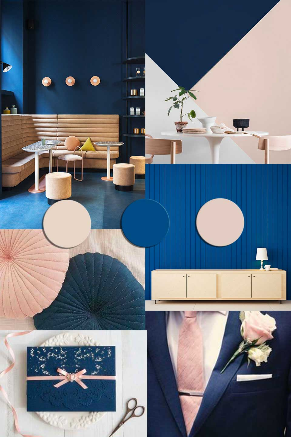 Color Trends 2021 Starting From Pantone 2020 Classic Blue La Mejor Imagen Sobre Decorating Ideas For The In 2020 Farbpalette Blau Innenraumfarben Farbe Des Jahres