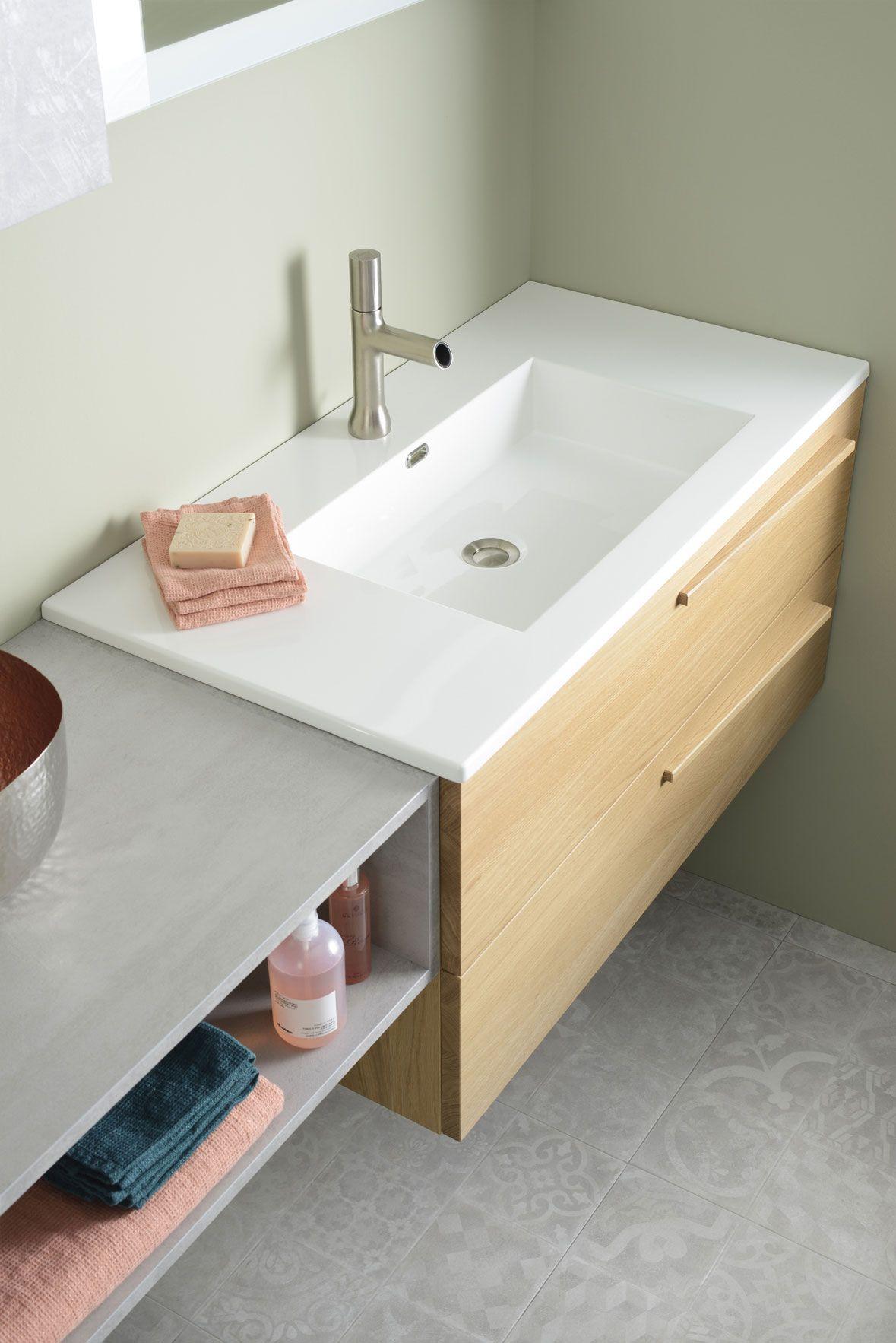 Salle De Bain Halo meuble salle de bains tendance - halo de sanijura : plus de
