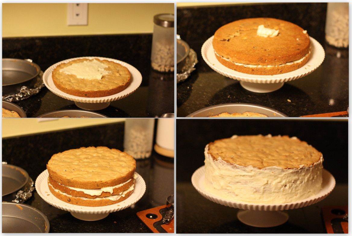 Blondie Layer Cake Collage
