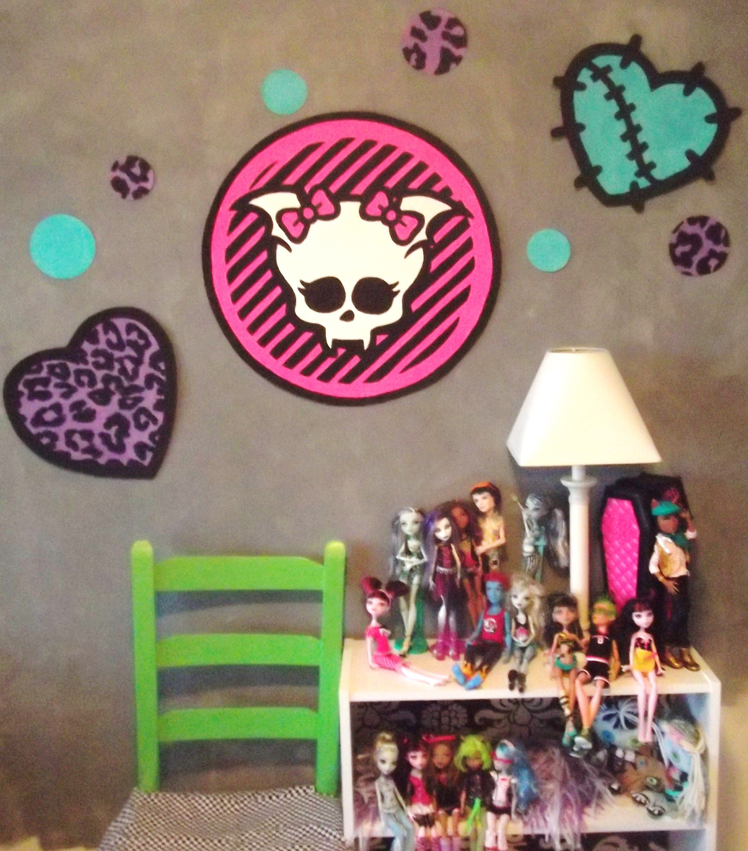 Monster High Wall Decor this is a hand painted wallpaper (all murals are paintedme