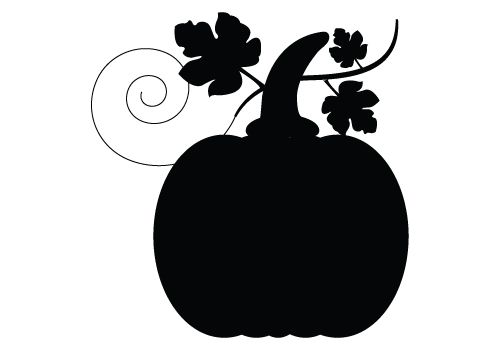 silhouette vector blog free silhouette illustration silhouttes rh pinterest com Pumpkin Clip Art Free Outlinegif Silhouette Pumkin