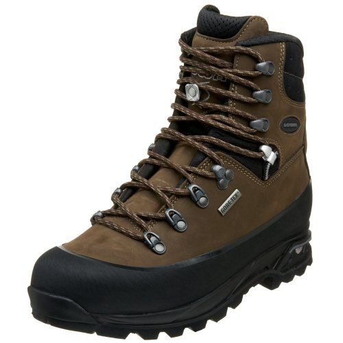 Amazon.com | Lowa Men's Tibet Pro GTX Backpacking Boot, Sepia/Black, 7 W US  | Backpacking Boots