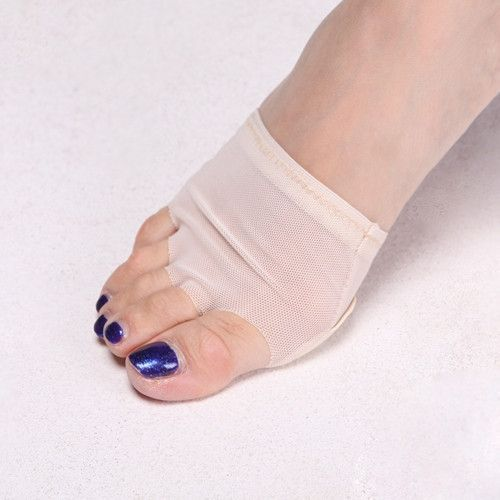 2019 Belly Dance Paws Cover Pads Thongs Toe Undies Half Shoes Socks Forefoot