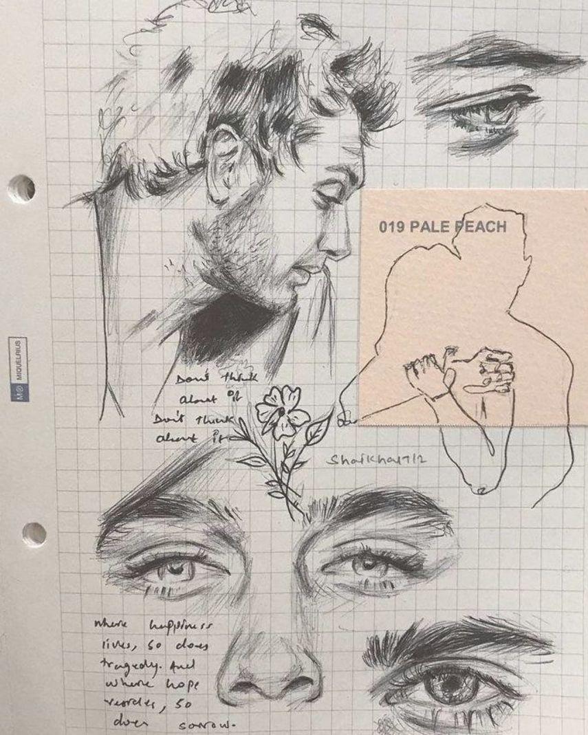 Drawing the Soul auf Instagram Diese Skizzen von Amu sind einfach wundersch