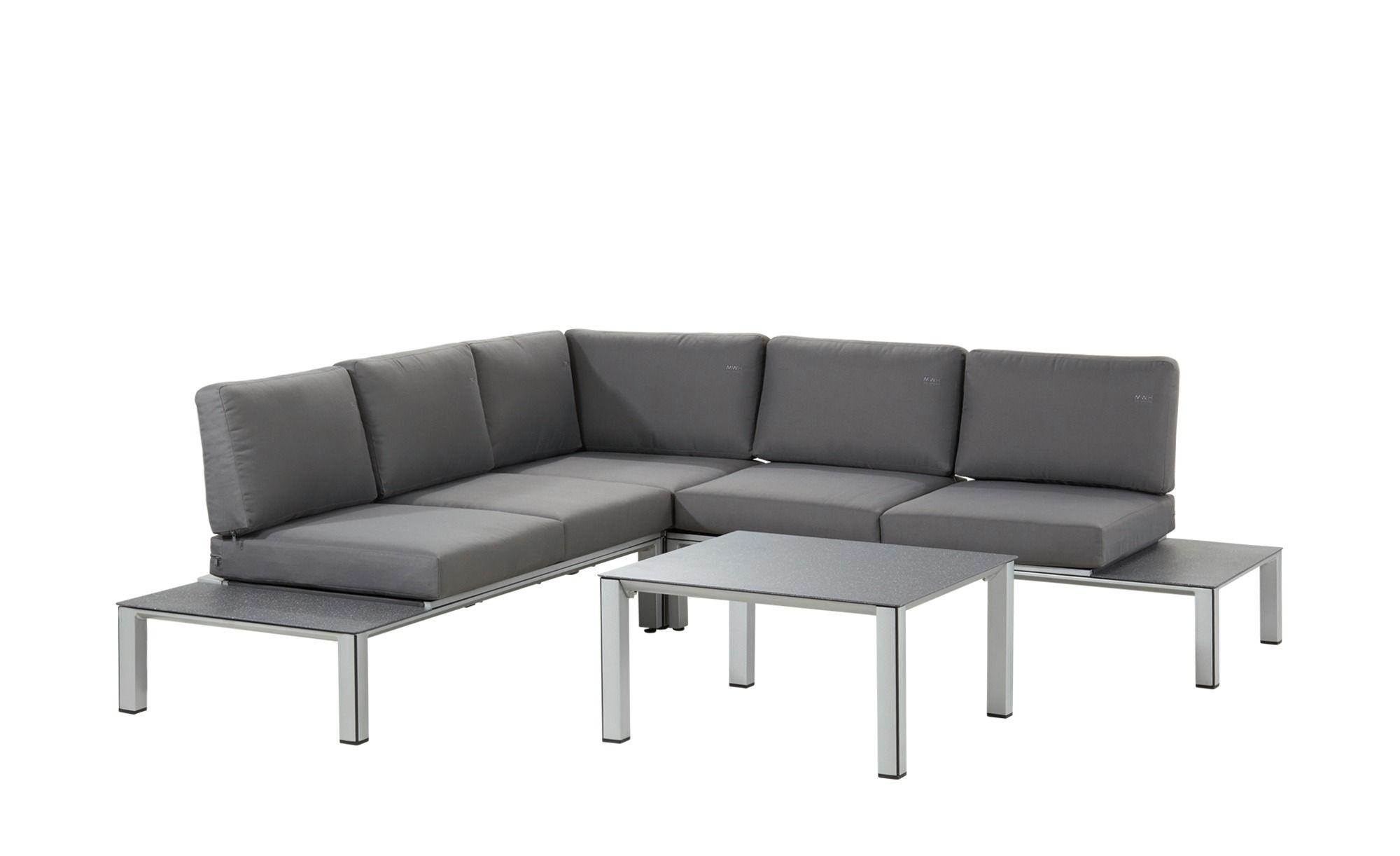 MWH Garten-Lounge-Set Elements - silber - Materialmix - Höffner ...