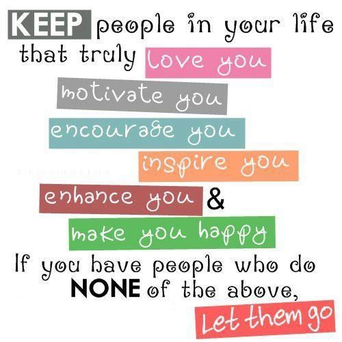 Keeping the right people..