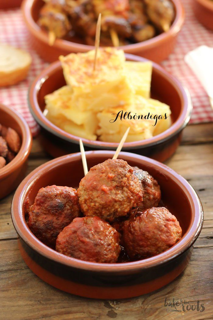 Photo of Albóndigas – Spanish Meatballs | Bake to the roots