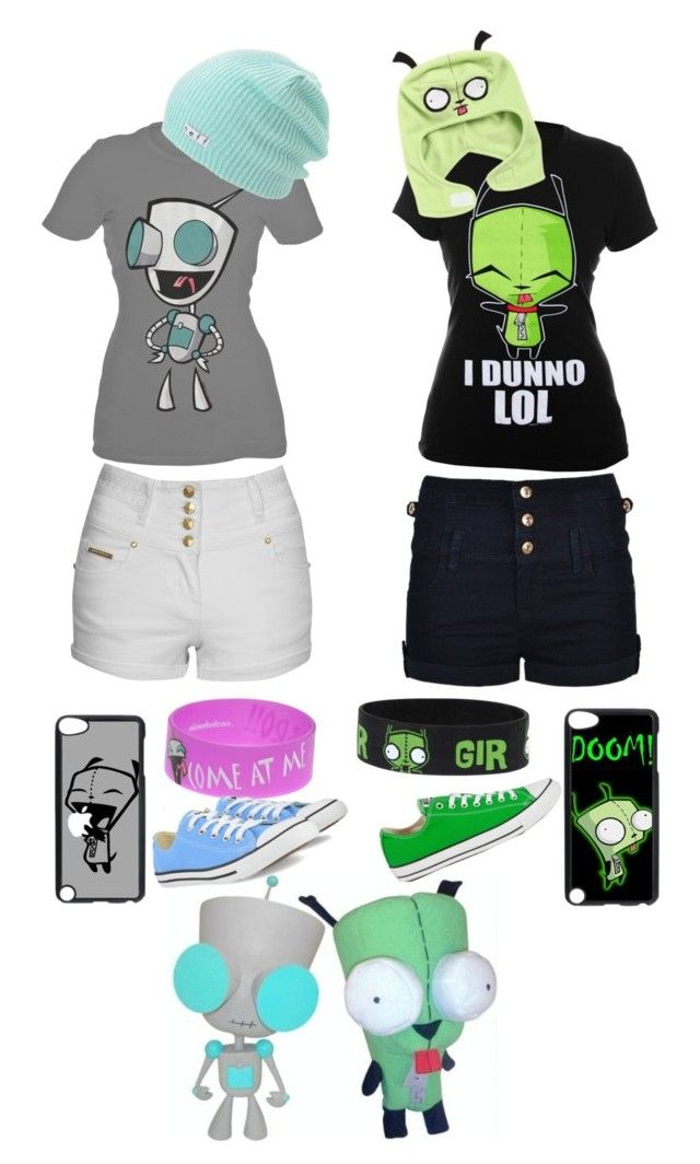 """""""Gir outfits"""" by mc2000pl ❤ liked on Polyvore featuring Neff, Converse and Jane Norman"""