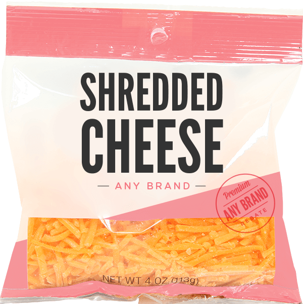 Shredded Cheese Any Brand Ibotta Buying Groceries Shopping Coupons