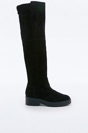 Parsons Suede High Leg Boots