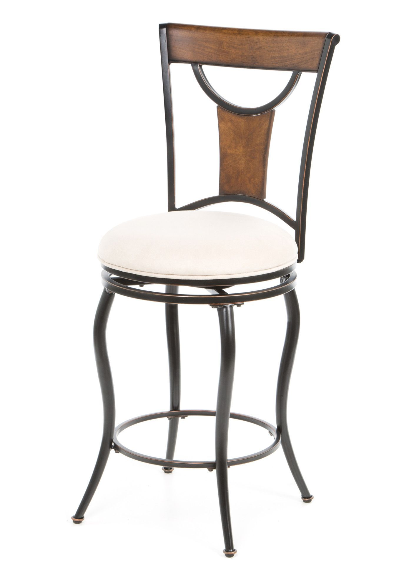 Inspirational 26 Swivel Counter Stool