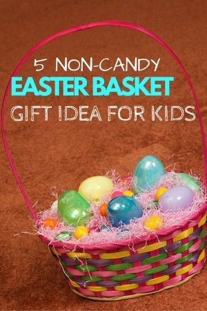 The best non candy easter basket gift ideas for kids other skip the chocolate and pick some fun non candy easter basket gift ideas for the negle Image collections