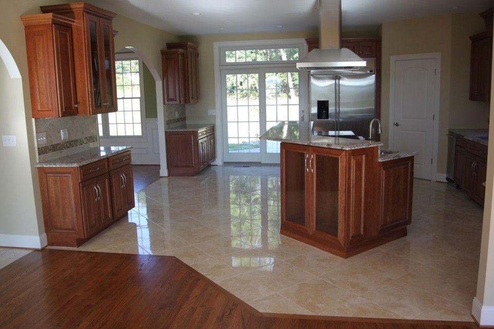 Interior Design, Choosing the Right Kitchen Flooring: Ceramic Tile ...