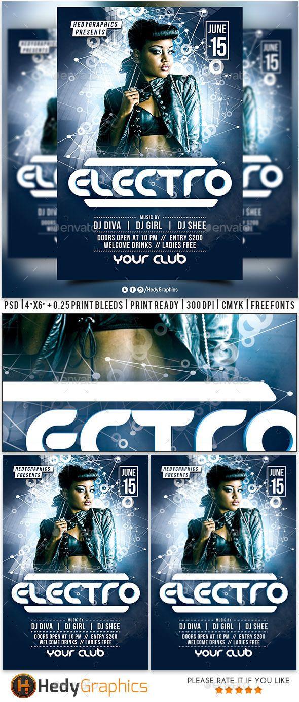 Guest artist & Electro Flyer