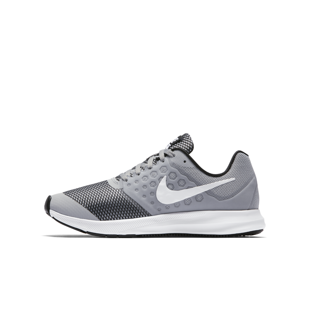 51842b1bb191 Nike Downshifter 7 Big Kids  Running Shoe Size 6.5Y (Grey ...