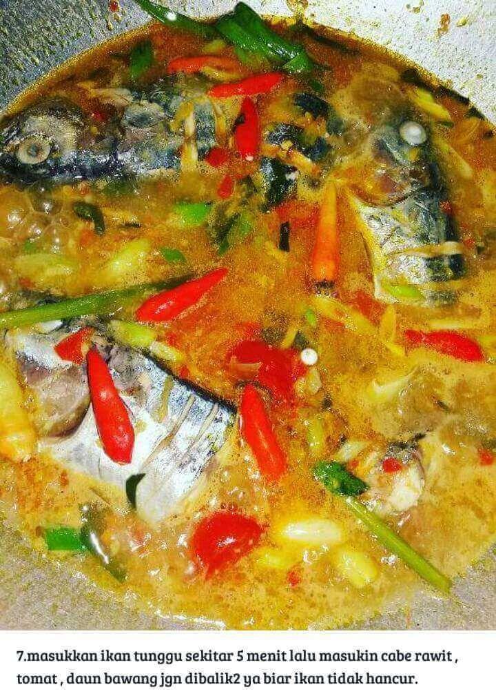 Resep Ikan Tongkol Masak Woku Khas Manado Resepkokico Di