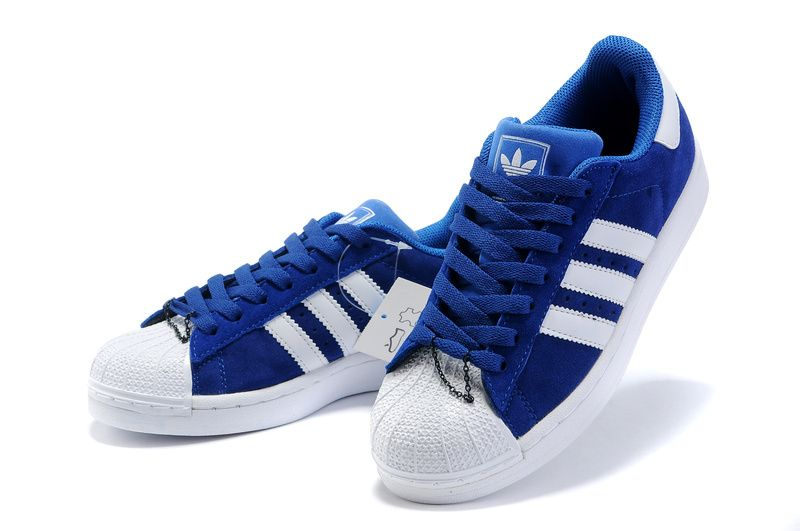 delicate Cheap Adidas Men's Superstar East River Rival, BLUE/ORANGE
