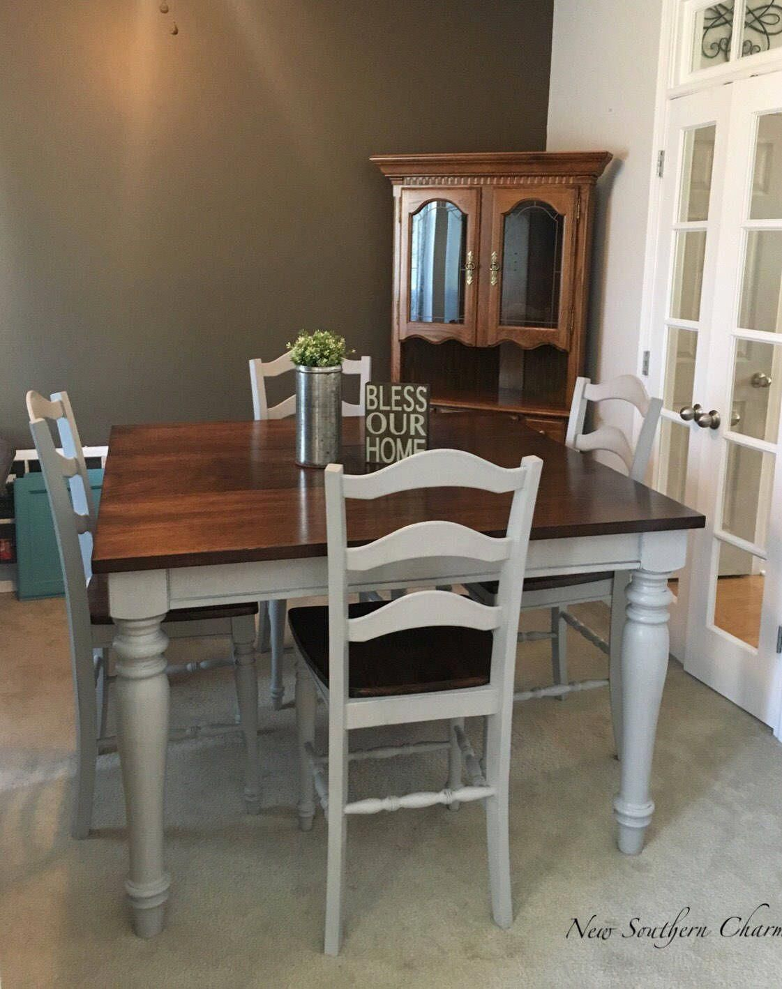 Bar height square kitchen table  Pin by Edna Minecks on Counter Height Table Ideas and diy