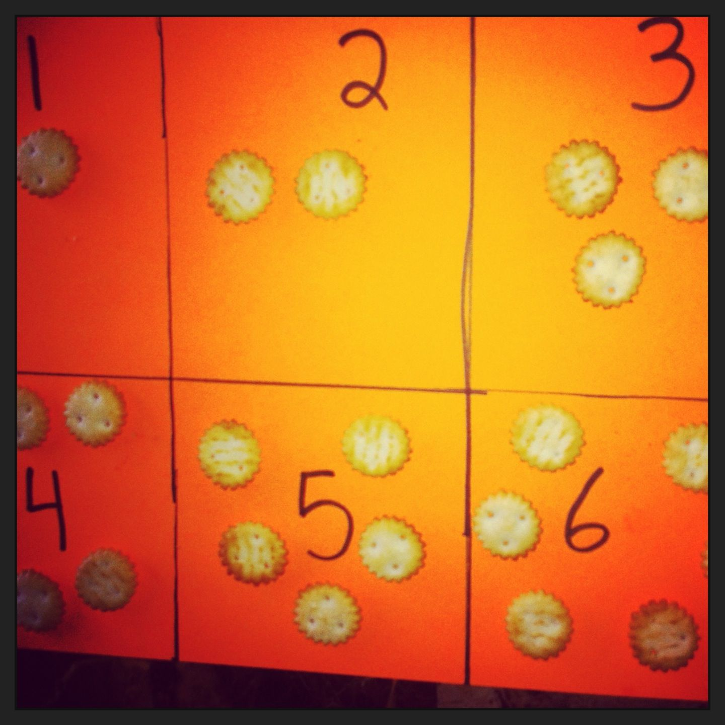 Number Recognition Is Fun With Food