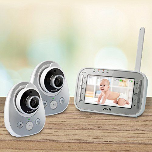 VTech VM342-2 Video Baby Monitor with 2 Cameras