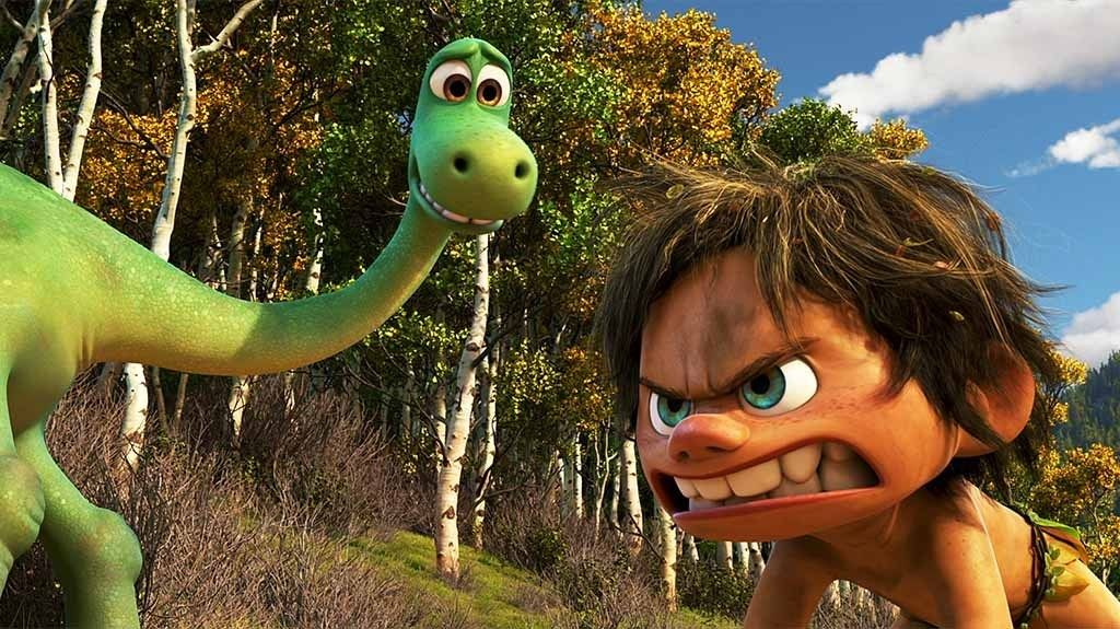 The Good Dinosaur Arlo And His Attack Cave Boy Spot