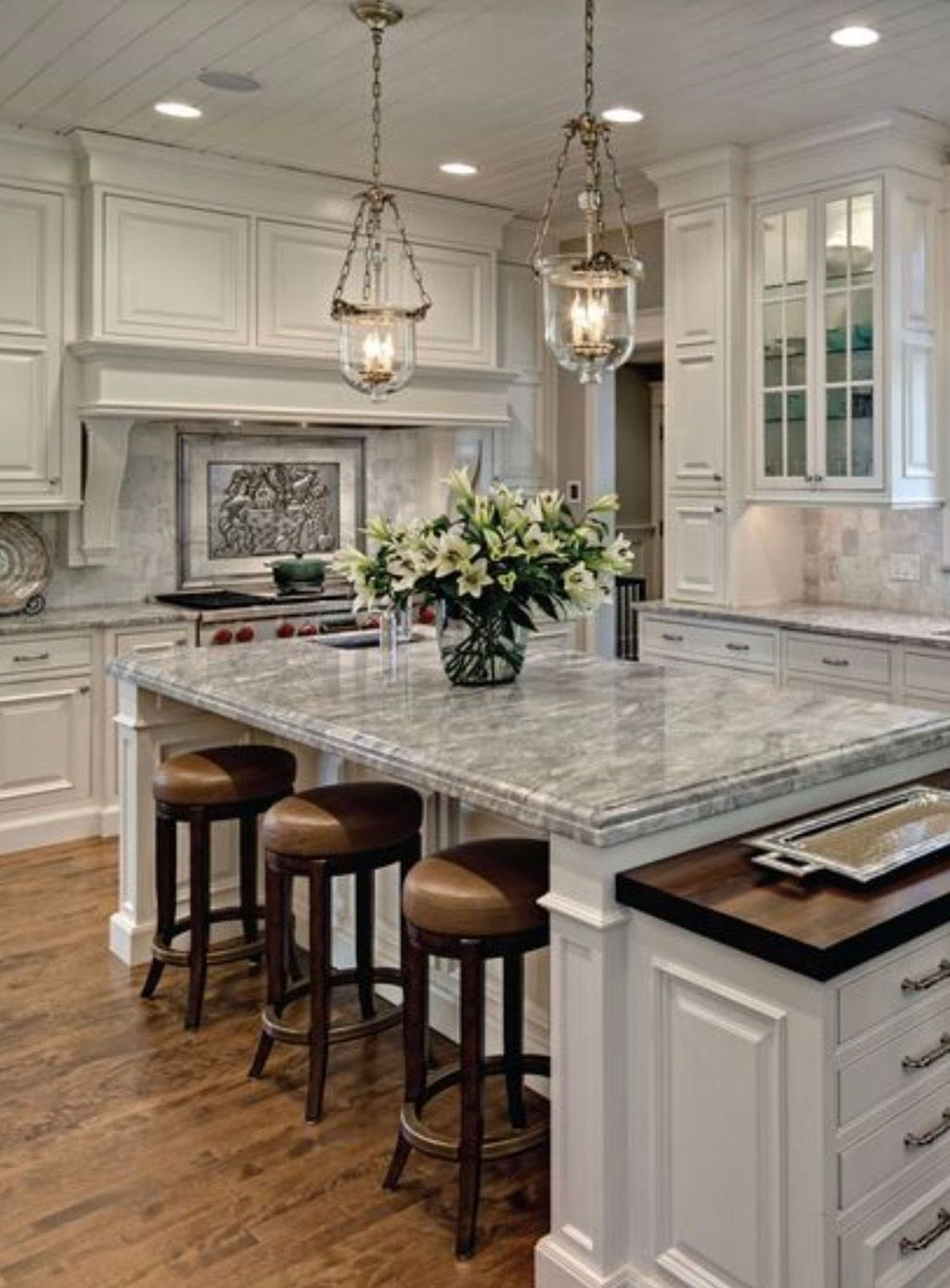 36 popular farmhouse kitchen color ideas to get on best farmhouse kitchen decor ideas and remodel create your dreams id=66017