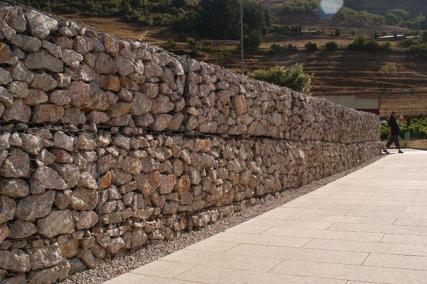 Qué son los muros de gaviones y cómo se utilizan? Muro de gaviones