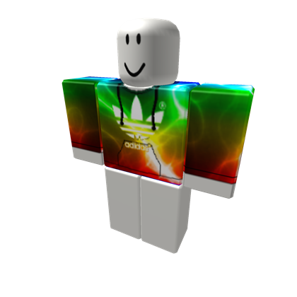 ORIGINAL Rainbow Electric Adidas - ROBLOX
