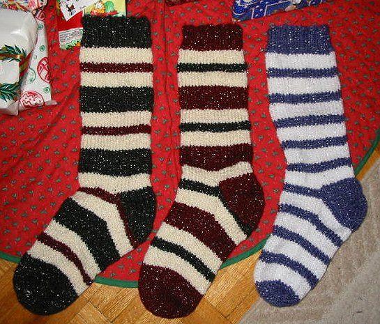 Sparkley For Girls Knitted Pinterest Stockings Knitted