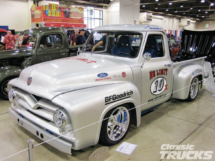 1955 ford f100 built by no limit engineering i watched this truck run autocross