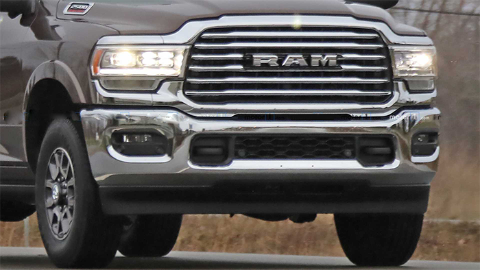2020 Ram Hd 2500 Spied Release Date Price