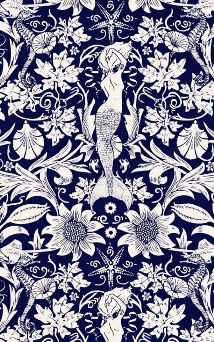 Ethnic iphone wallpaper - Mermaid Wallpaper Detail
