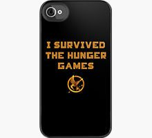 """""""I survived the hunger games"""" I wish... (iPhone Hunger Games case)"""