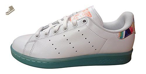 Adidas Originals Stan Smith W womens Trainers Sneakers Shoes (US 7.5, white  sunglow BB4309
